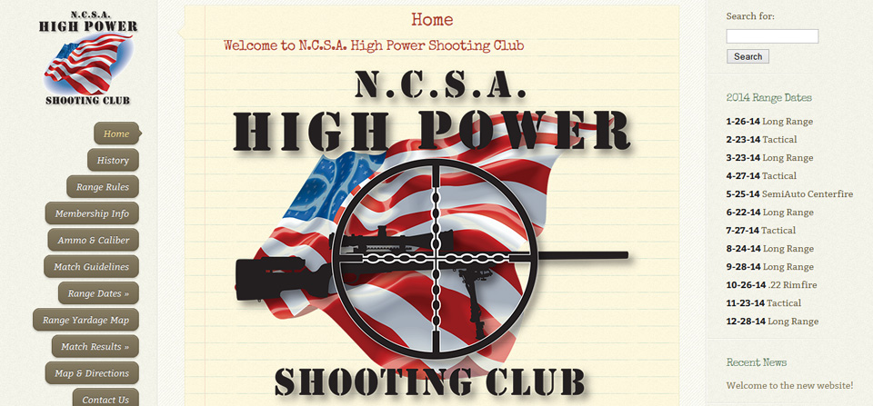 The NCSA High Power Shooting Club